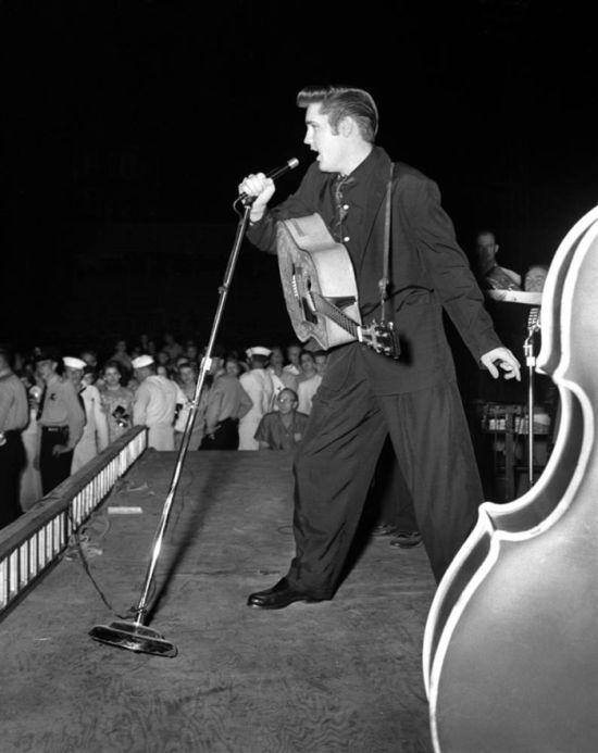 Imagens raras de Elvis