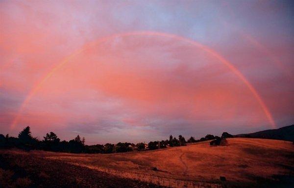 Arco-íris, um show da natureza