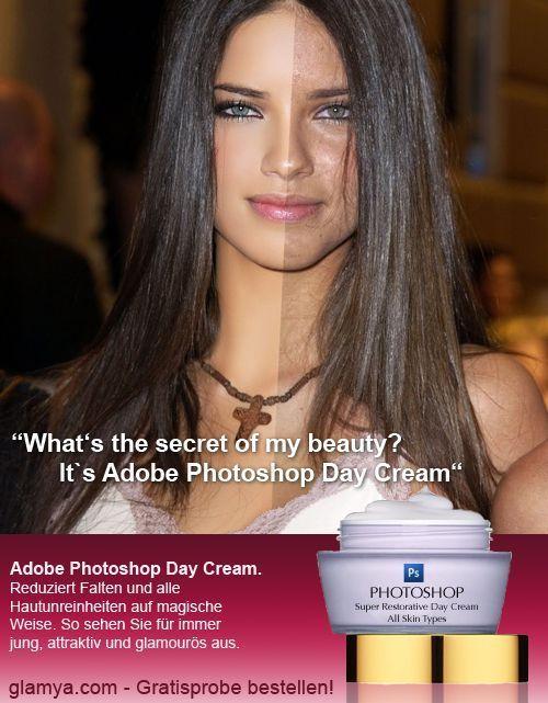 Creme de beleza diário Photoshop 01