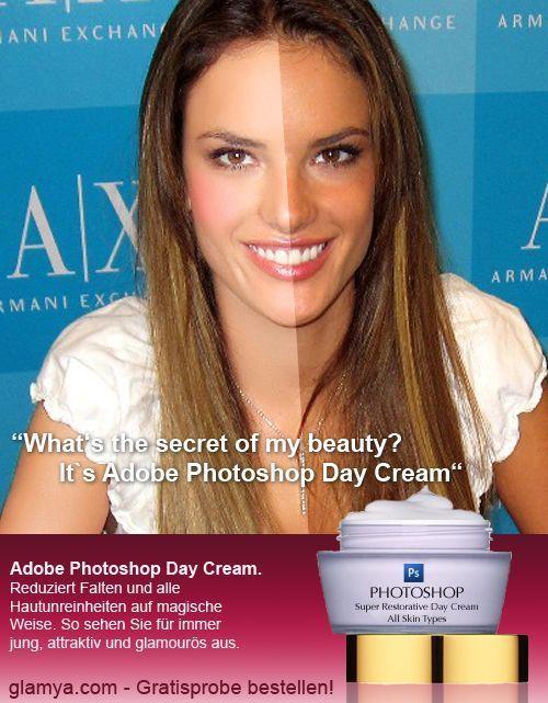 Creme de beleza diário Photoshop 02
