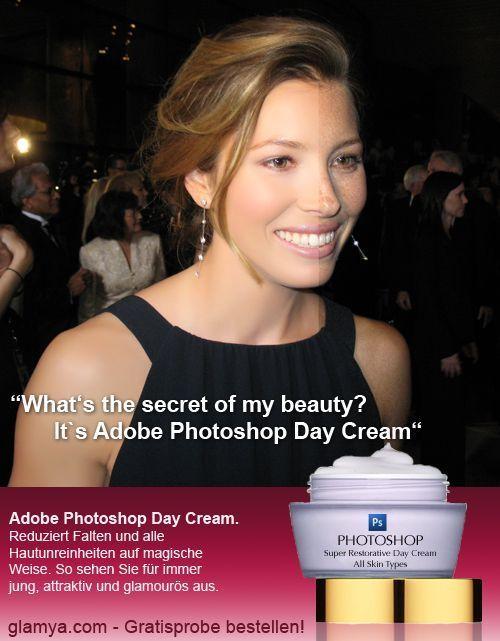 Creme de beleza diário Photoshop 22