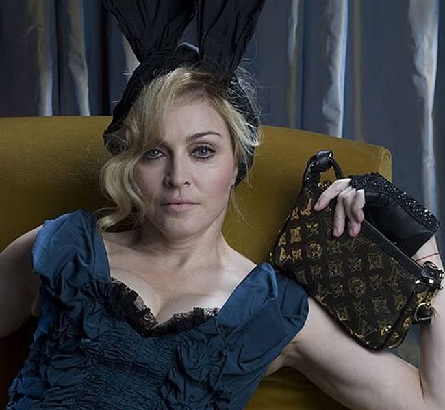 Fotos sem retoque da Madonna para a Louis Vuitton