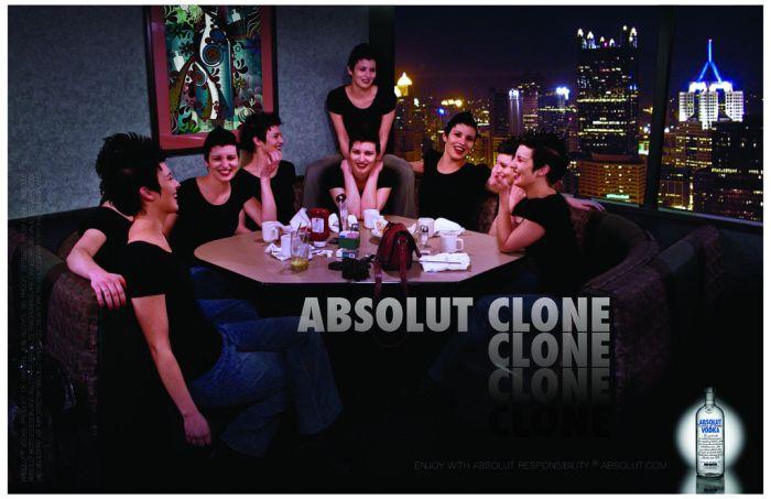 Eu e meus clones