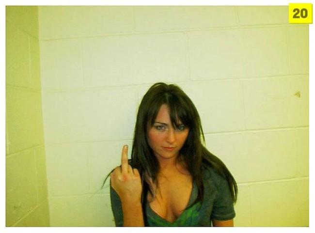 As melhores fotografias de delinqüentes de 2008 (Mug Shots)