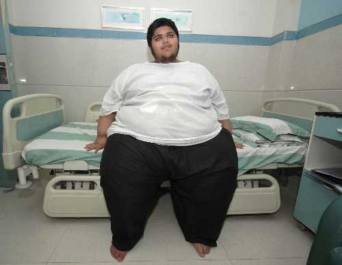 Tem 17 anos e pesa 248 quilos