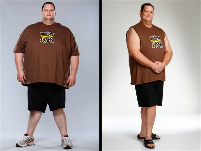 The Biggest Loser, fotos do antes e depois