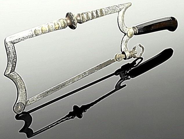 Tenebrosas ferramentas da medicina antiga