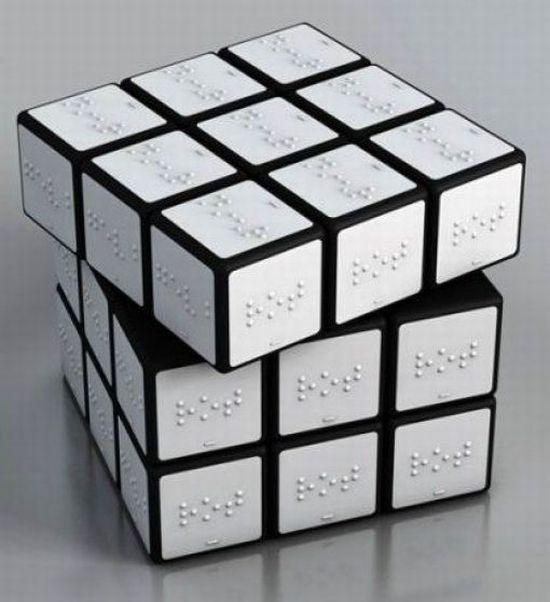 Cubo de Rubik para cegos