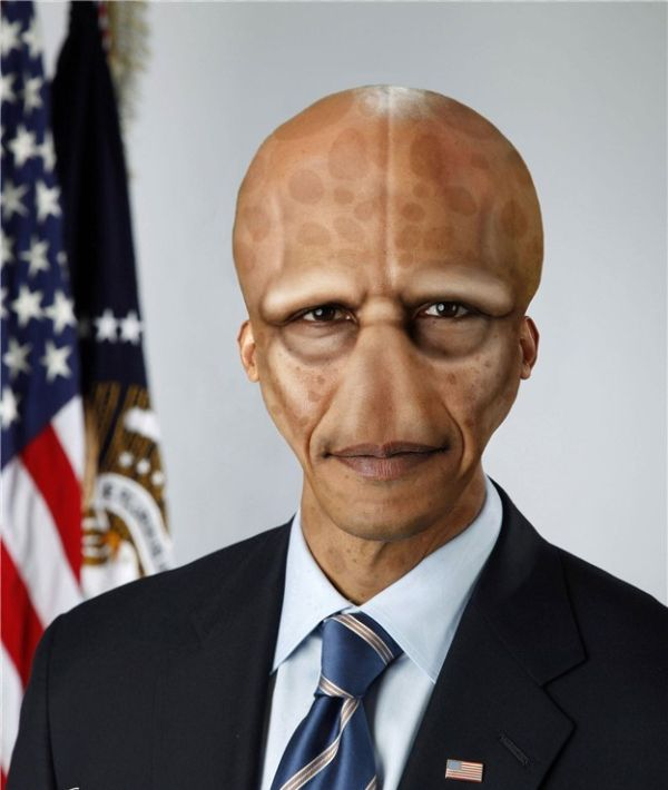 Obama, o único capaz de enfrentar uma invasão extraterrestre