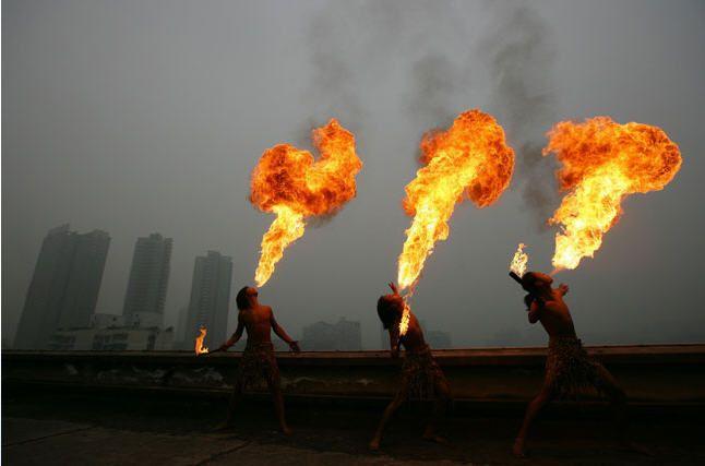 Mulheres de fogo.