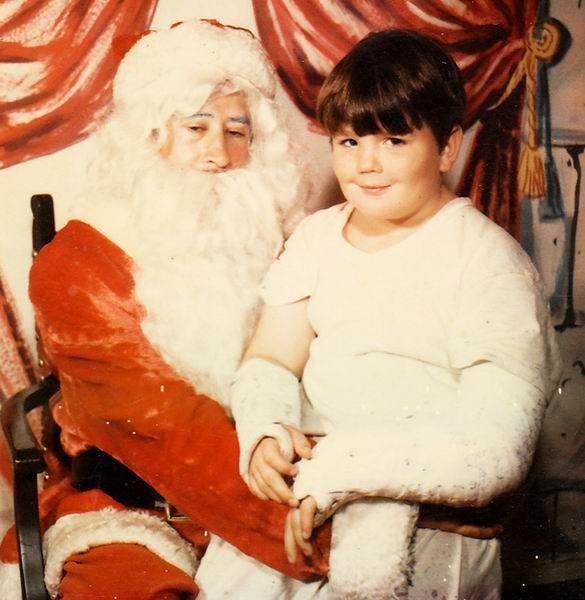 Papai Noel não se comportou bem este ano.