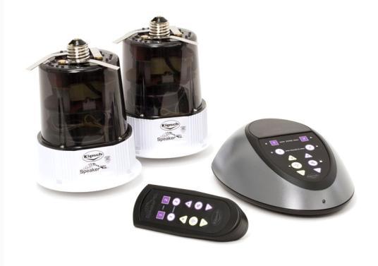 Tecnologia em lâmpadas + tecnologia em alto falantes = lâmpada-falante