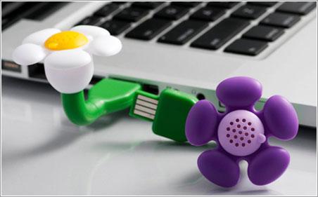 Flor perfumada USB