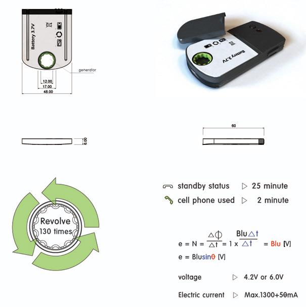 Uma forma criativa de recarregar a bateria do celular