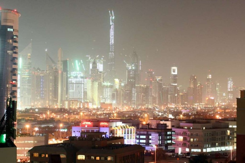 Dubai, um canteiro de obras a c�u aberto