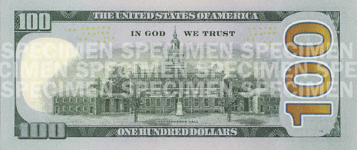 Novo 100 dólares