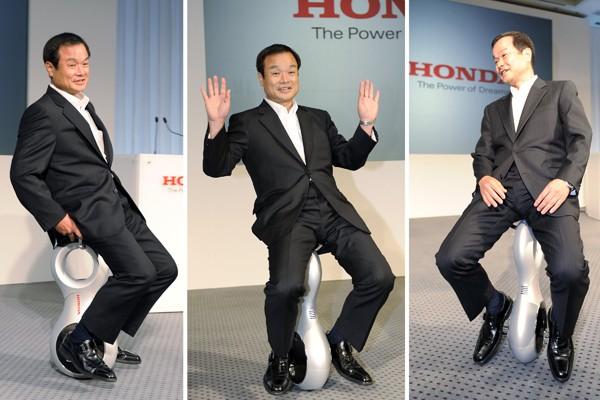 O monociclo elétrico da Honda