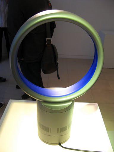 Novo modelo de ventilador sem hélices