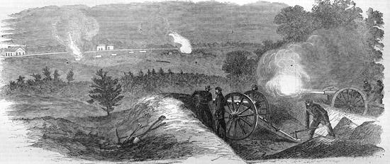 Sedgwick em Spotsylvania em 1864