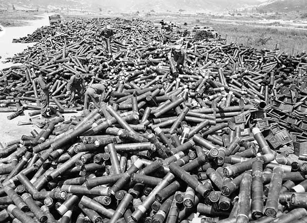 Bombardeios na Guerra da Coréia