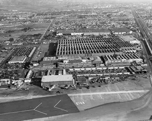 Camuflando uma fábrica de aviões